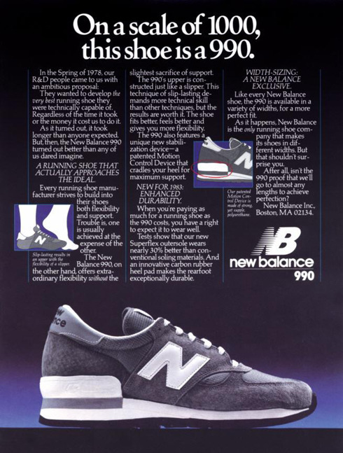 A classic NB 990 print ad from back in the day.