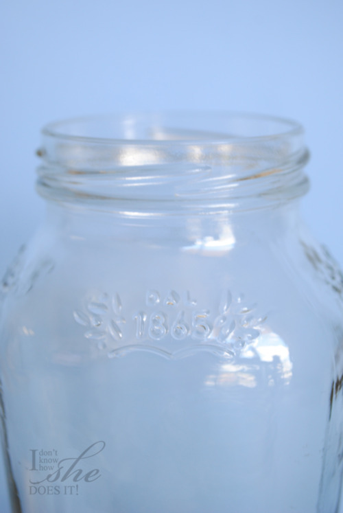 clear glass pasta sauce jars