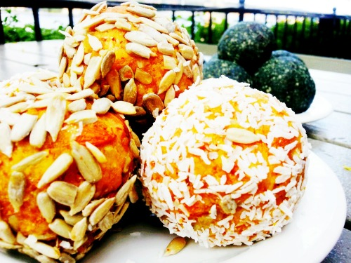 Apricot Orange Ginger Balls