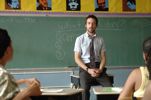 Half Nelson (2006) Showing on: Lovefilm Instant Genre: DramaThis film is one that I've contemplated watching in the past but never actually got round to seeing. It's about a junior city high teacher in New York who lives his life as a junkie and finds his motivation for life through the class of students he teaches. I did enjoy watching this film, it's not one I would run to see anytime soon but I do not regret watching it and i guess you could say that I found it to be slightly inspirational.. to a point. Not to mention the fact that Ryan Gosling is an incredibly good actor who plays his character remarkably well. On a side note, if you were not already aware, Ryan Gosling sings in a band called Dead man's bones. They're actually pretty good.http://www.youtube.com/watch?v=FEvF7qUf2Pc