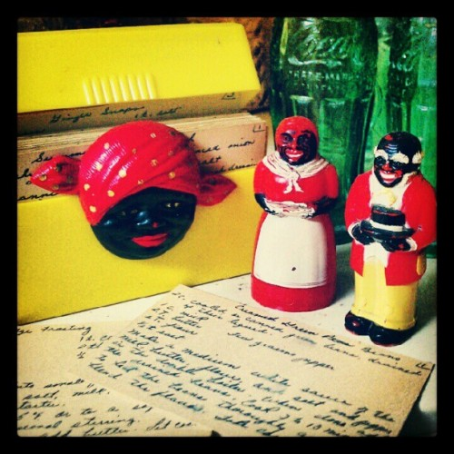 My grandmother's house is full of OLD antiques. (Taken with instagram)