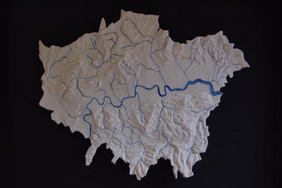 thingsmagazine:  The Lost Rivers of London, a ceramic by Loraine Rutt (via things)