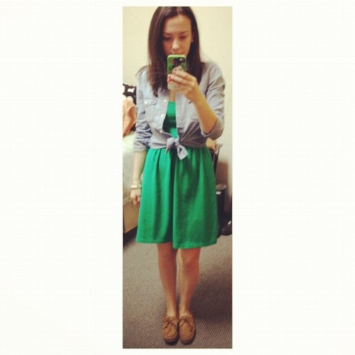 Yesterday's OOTD (Taken with instagram)