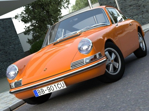 The original 911: A model from 1963.