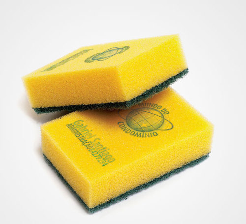 Cleaning Products Sponge Business Card