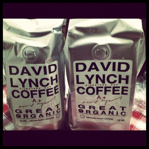 Can't wait to try this tomorrow! #davidlynch #coffee (Taken with instagram)