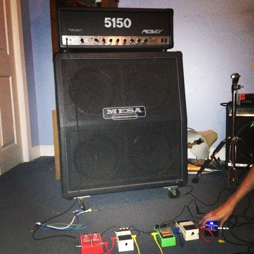 Bout to make some royal ruckus #5150 #metal #music #rocknroll  (Taken with instagram)