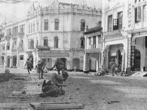 Battle of Kuala Lumpur - Japanese troops mopping up in Kuala Lumpur during their advance, 8 December 1941 - 15 February 1942The Battle of Kuala Lumpur is a battle between Japanese invasion forces and the British forces in Kuala Lumpur, the capital of the then-Federated Malay States, a British protectorate.