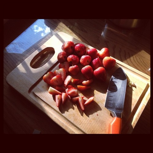 Strawberry Friday (Taken with instagram)