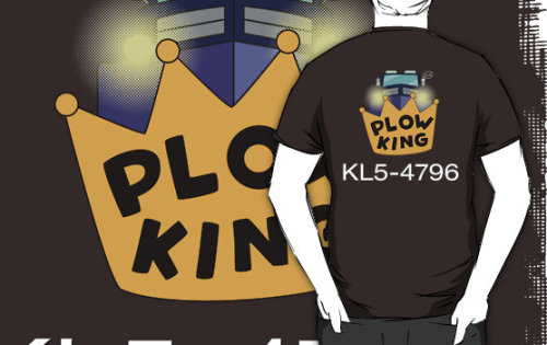 """Plow King"" T-Shirts & Hoodies by Blayde 