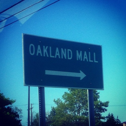 fuckamarisean:  I'm in muthafucking Detroit and they got a mall named this???!! Respect #oakland #detroit (Taken with instagram)  that's what's up