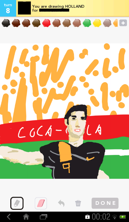 Robin van Persie! Go Holland! Submitted by Lamain.