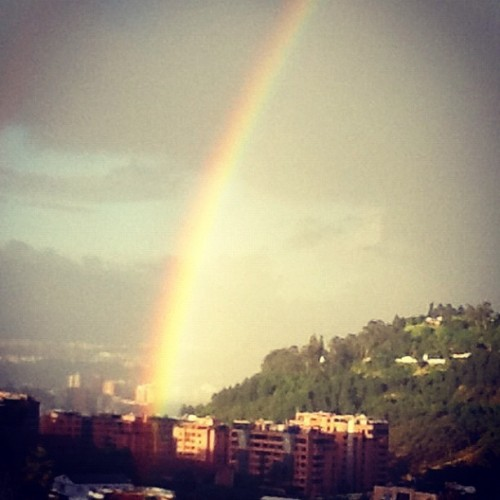 #rainbow #caracas  (Taken with instagram)