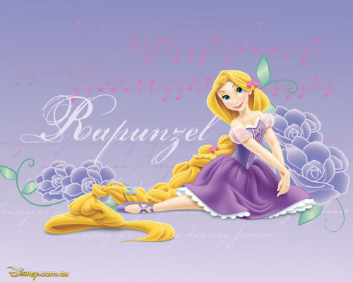 artoftangled:  A Ballerina Rapunzel Source: Disney.com.au Princess Page (Downloads)