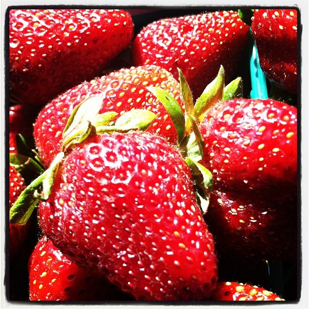 #fresh #strawberry (Taken with instagram)