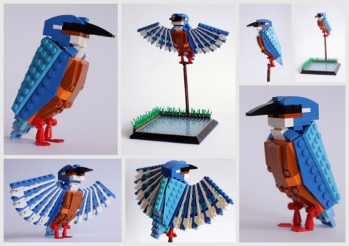 laughingsquid:  The LEGO Birds of Britain