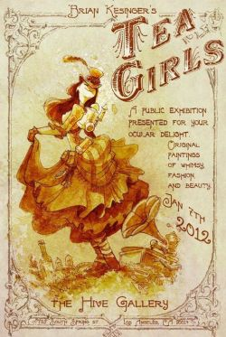 steampunkxlove:  I wish I could go! If you're in the area at the time, you should definitely take a look. Apparently he's going to be releasing some Kato-inspired Tea Girl this year. :)