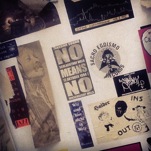 #nomeansno #ceciltaylor #heroes. i need/want my own freaking sticker now (Taken with instagram)