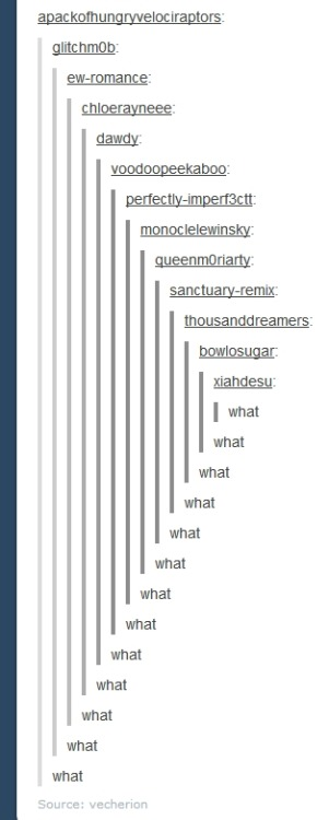 This is why tumblr sucks and you all need to kill yourselves.
