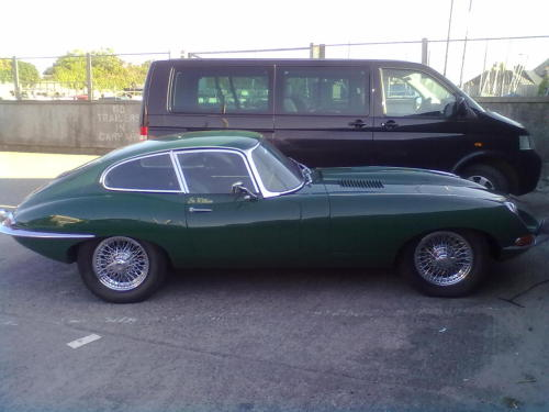 Jaguar E-Type (again)