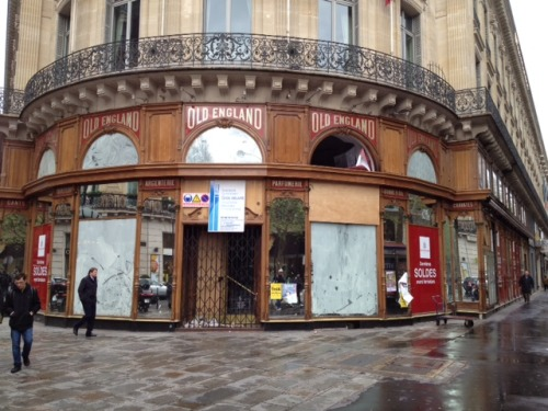 maxminimus:  Old England, Paris. R.I.P.  The closing of the legendary menswear retailer Old England and the rumored sale of another legend, Arnys to LVMH means that when I finally get the chance to visit Paris, it won't be the Paris I'd hoped to visit.