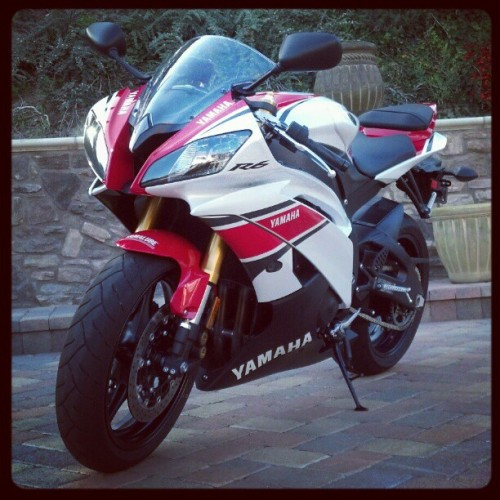 #2012 #yamahar6 #r6 #anniversary #sport #bike (Taken with instagram)