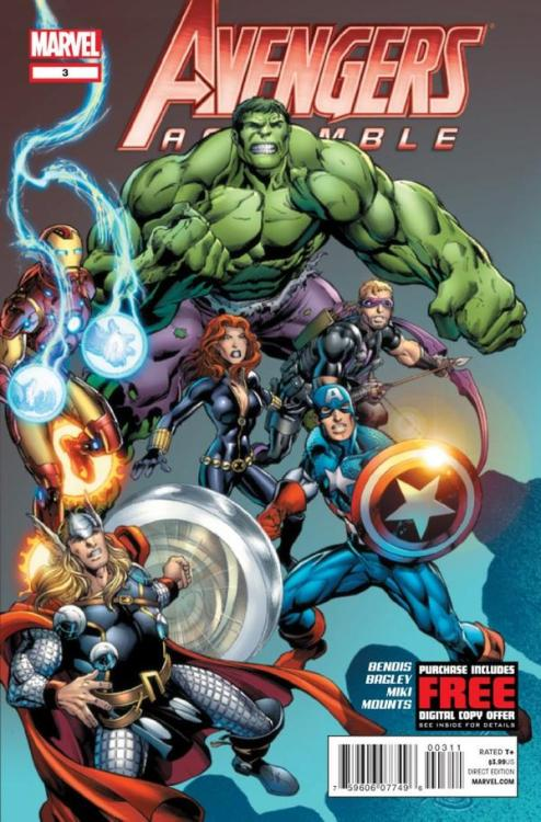 Check out my Review of Bendis', Bagley's, Miki's and Mounts' Avengers Assemble #3! —-   My Reviews for this series so far: Avengers Assemble #1: Disassembled Expectations ( 3.8 / 5.0 ) Avengers Assemble #2: What's In The Box? ( 3.3 / 5.0 ) Avengers Assemble #3: Avengers Redeemed! ( 5.0 / 5.0 )