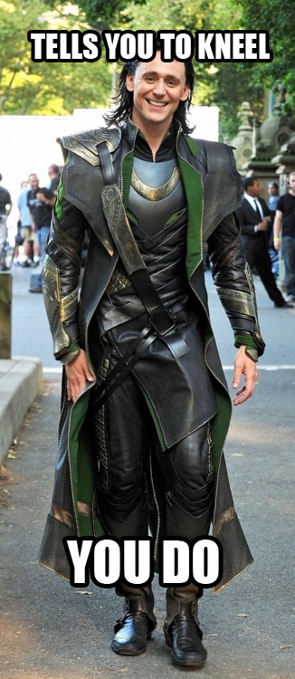 polychromaticdragon:  Ridiculously Photogenic Loki