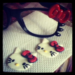 Hello Kitty sugar crafts! =^•^=
