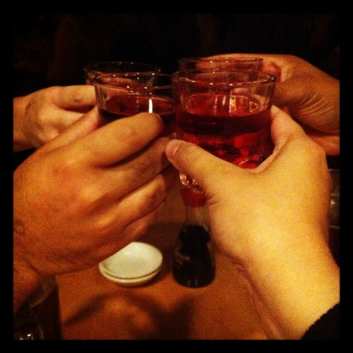 Woohoo shots (Taken with Instagram at Hunan Number One)