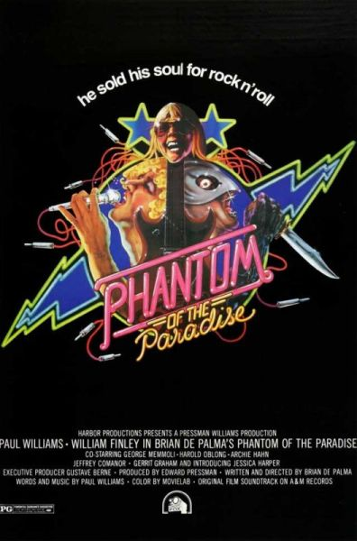 The Phantom of the Paradise - Poster