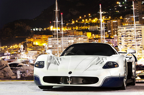 In Monaco, a Maserati MC12. Photo by Alex Penfold.