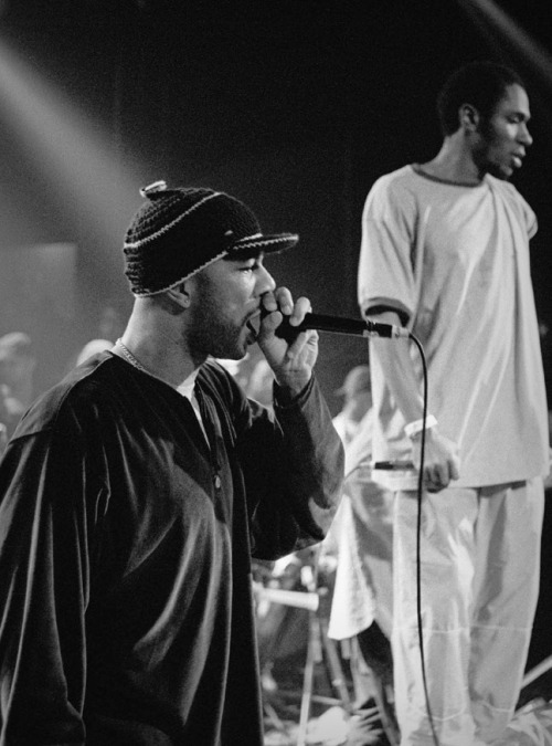 soul-is-amazing:  Common with Mos Def in 1999  two legends