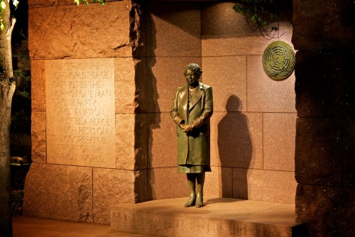 Eleanor Roosevelt, FDR Memorial, Washington, DC © Mark D Wolinski Follow us and get your travel news at Travel Off The Cuff.