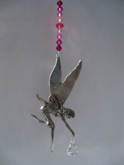 """Tinkerbell Fairy"" Sun Catcher by electricrainbow1"