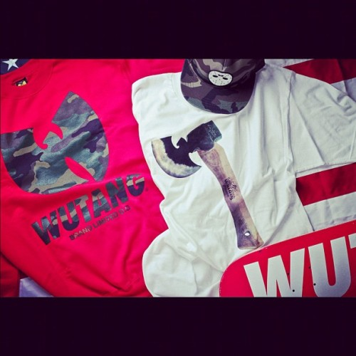 #wutang spring 2012 preview. #wutangforever #WBL #ninjas  (Taken with instagram)