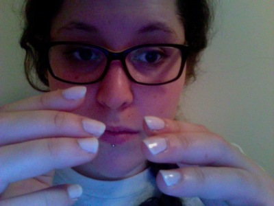 upthefolks:  nail sitch, matte on all but two nails (which have a high gloss finish).