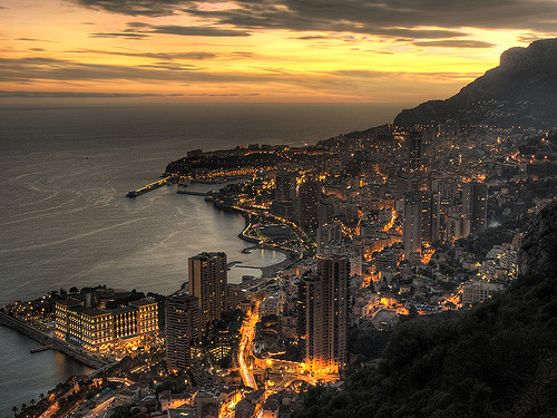 Of a country only 0.76sq miles in size…Monaco. Montecarlo, Monaco.