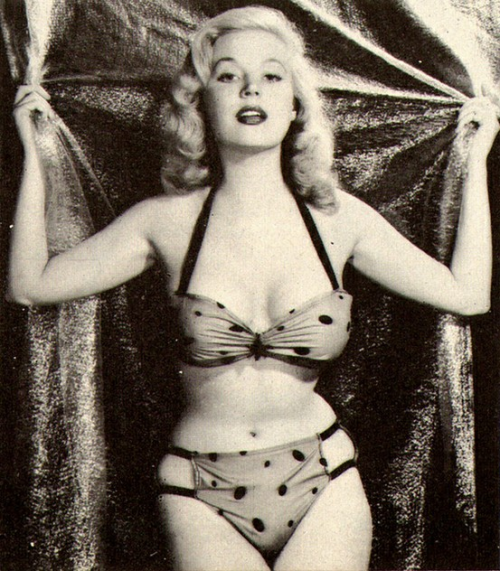 simply-divoon:  Betty Brosmer, c. 1950's