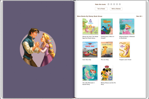 "Tangled (Read-Aloud Storybook) Part 5 of 5 Full Images (2262 x 1504 pixels): Cover (Amazon) Pg 53 & 54 || Pg 55 & 56 || Pg 57 & 58  Pg 59 & 60 || Pg 61 & 62 || Pg 63 & 64  Pg 65 & 66 || Pg 67 & 68 || Back Cover Read the rest: Part 1, Part 2, Part 3, Part 4, Part 5 Source: ""Disney Princess: Tangled Movie Storybook"" iBook; Amazon.com (Cover Pages); All pages pieced together from screenshots by me; Back Cover scanned from actual hardcover book by me; You can also read this book for free by registering on the Disney Digital Books website PS: If you reblogged this from me less than a minute after I posted it, please re-reblog if you can, because I had to edit in the links to the other posts later"