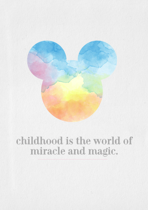 cherizza-m-a:  Mickey Watercolour
