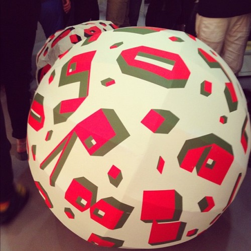 Barry McGee show balls out!