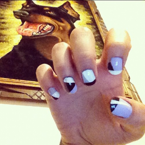 Take 2. Nagel nailz. (Taken with Instagram at Mischief Mansion)