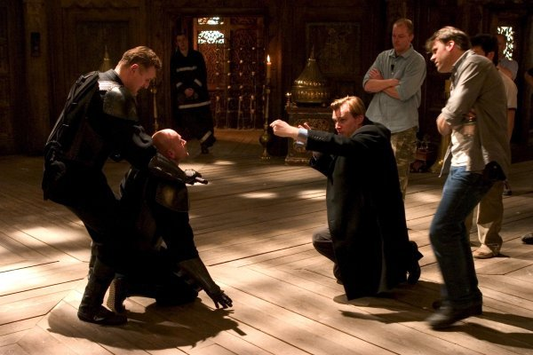 fuckyeahbehindthescenes:  WhenChristian Bale and Liam Neeson were fighting on the frozen lake they could hear the ice cracking beneath their feet. The next day, the lake was completely melted. Batman Begins (2005)