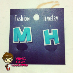 """Yong Clay Accessories"" MH Earrings for only 70php :) Just click the photo if you're interested. Jinja gomawo! :"") <3"