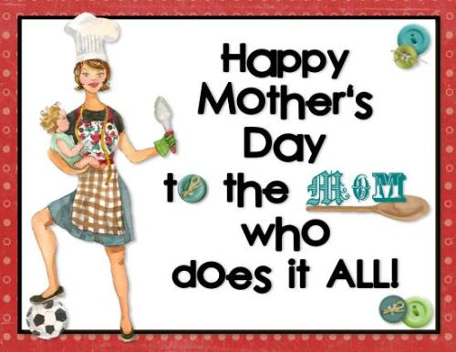 Happy International Mother's Day!