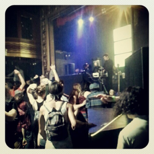 #CrystalMethod  (Taken with Instagram at Webster Hall)