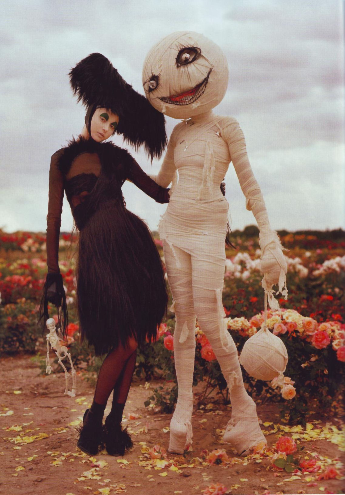 bohemea:  Tim Burton's Tricks & Treats - Bazaar by Tim Walker, October 2009