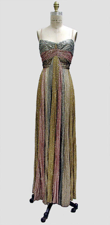 Dress Madeleine Vionnet, 1937 The Metropolitan Museum of Art