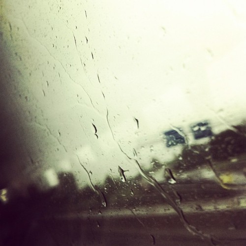 MDC 2012 Day 7 - On the road again #rain #bus #travel #journey #cloudy #iphone4 #iphoneonly #autobahn #highway (Taken with Instagram at Pure Natur)